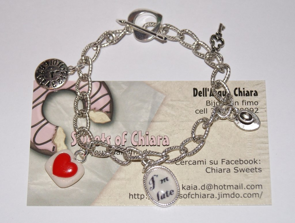 bracciale alice in wonderland