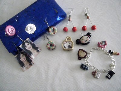 stock accessori in fimo anello orecchini bracciale