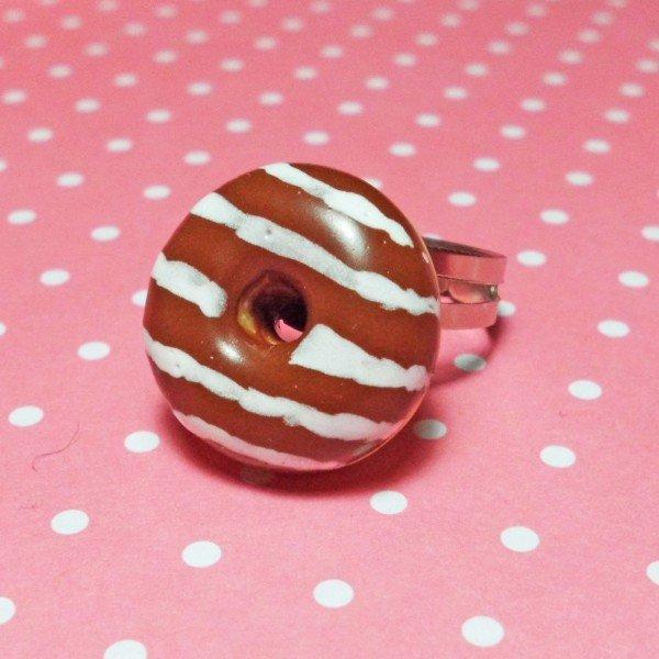 Anello donut al cioccolato