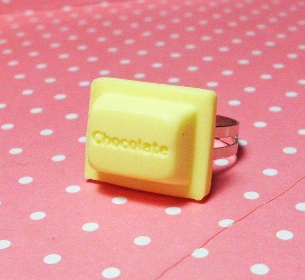 Anello Chocolate bianco