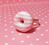 Anello donut alla fragola
