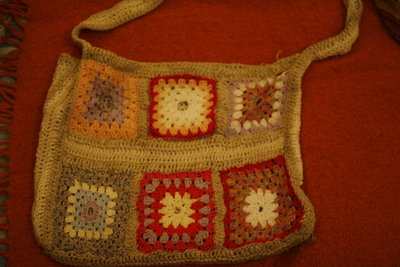 borsa artigianale cotone e canapa-handbag handmade cotton and hemp
