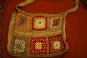 borsa artigianale cotone e canapa-handbag handmade cotton and hemp