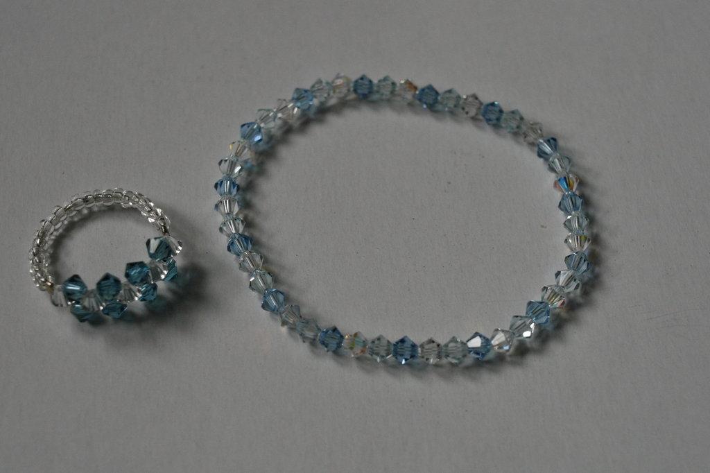 anello & bracciale artigianale pietre preziose