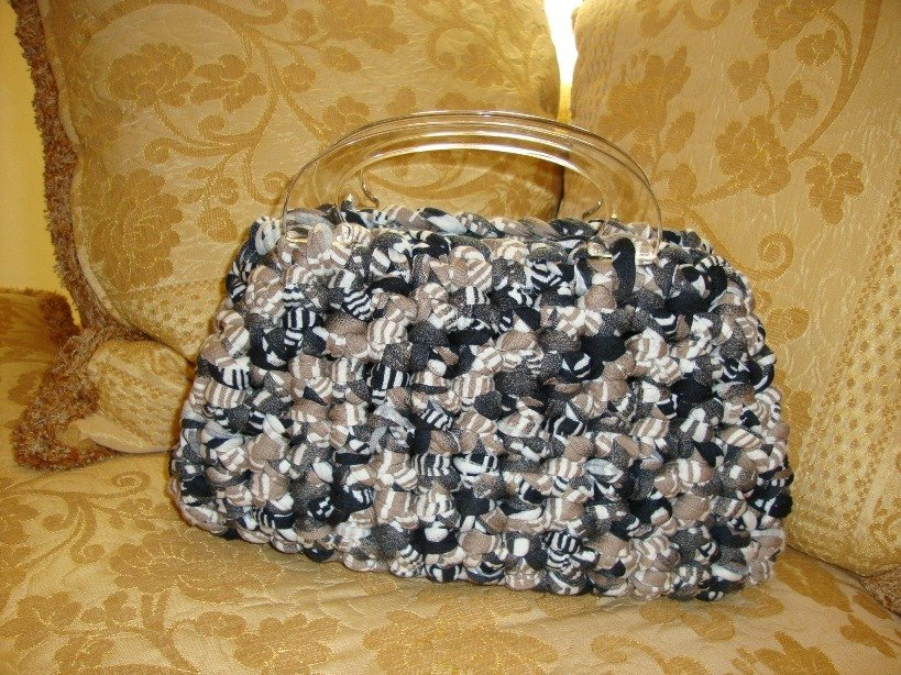 borsetta in fettuccia