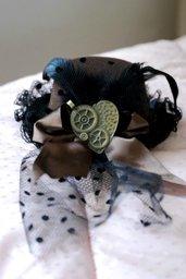 Steampunk mini-hat