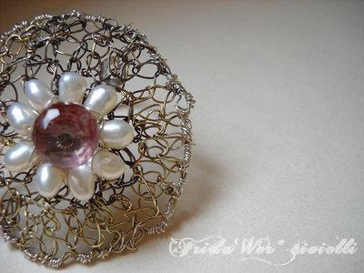 !!!SCONTATO da 22 a 16 !! - Eccentric Princess' Flower Ring - Free shipping