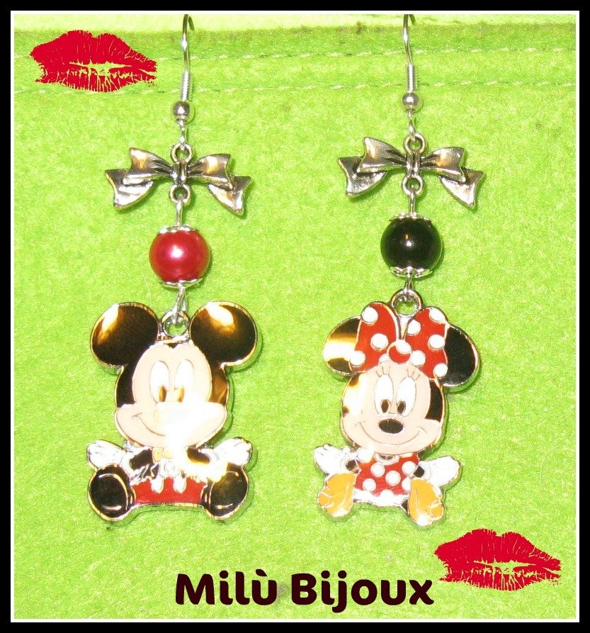 Minnie & Topolino