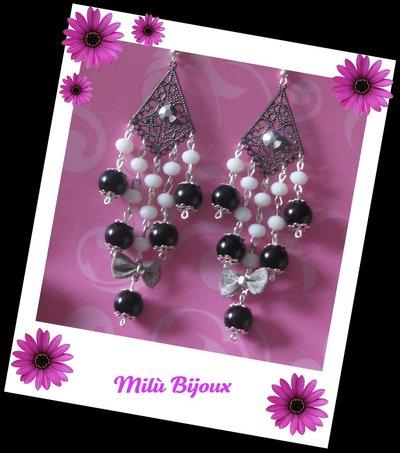 Filgrana rombo con cristalli e perle