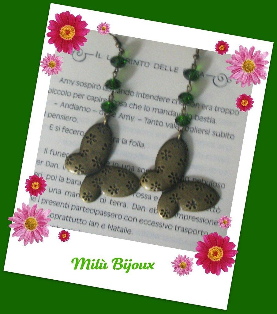 Farfalla bronzo
