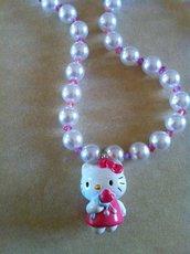 Collana Hello Kitty cuore
