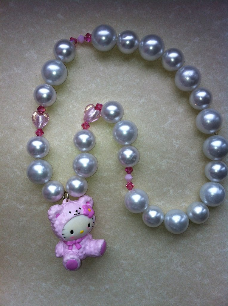 Collana Hello Kitty orsetto