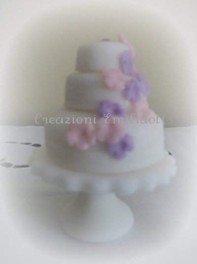 segnaposto matrimonio mini  wedding cake