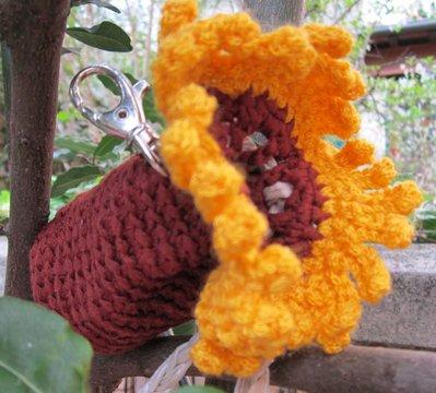 Porta Bon-Ton fioriti - girasole