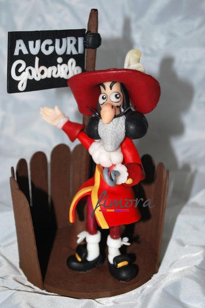 Cake topper personaggio