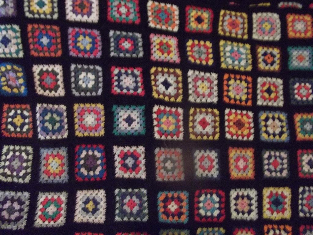 coperta multicolore