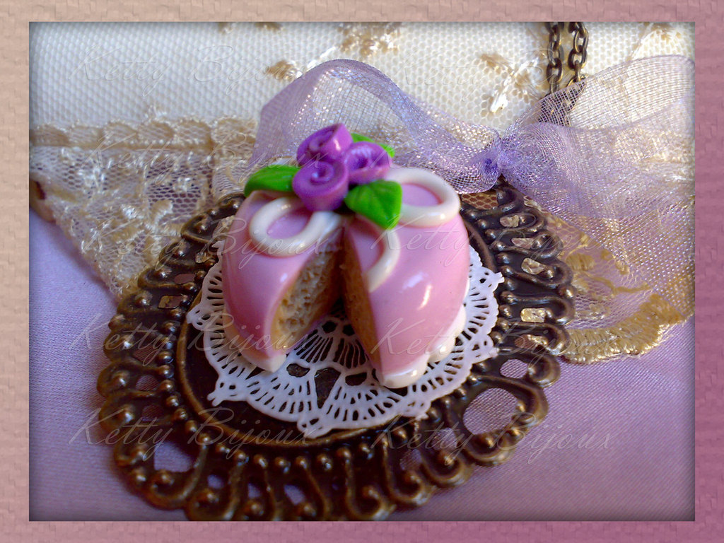 "Collana ""Sweet cake"""