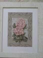 Lettera con rose