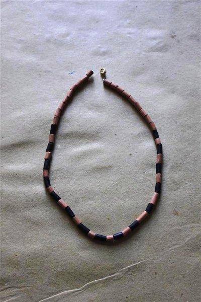collana girocollo etnica bicolor