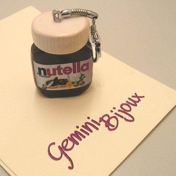 Portachiavi Nutella