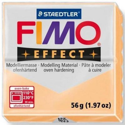 PANETTO FIMO EFFECT PESCA COLORE 405 STAEDTLER 56 GR POLYMER CLAY