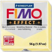 PANETTO FIMO EFFECT VANIGLIA COLORE 105 STAEDTLER 56 GR POLYMER CLAY