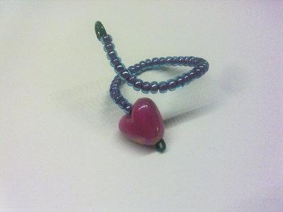 anello spirale cuore
