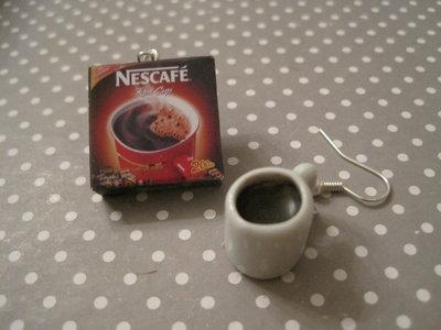 Orecchini Nescafe