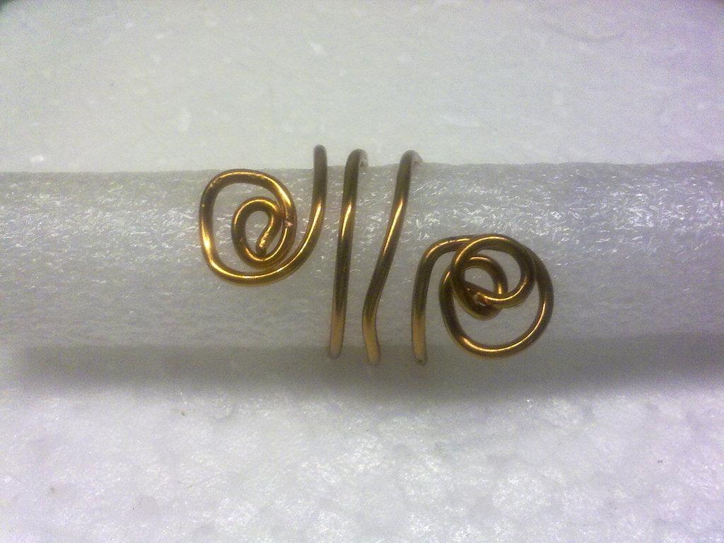 anello fantasia di rame 2