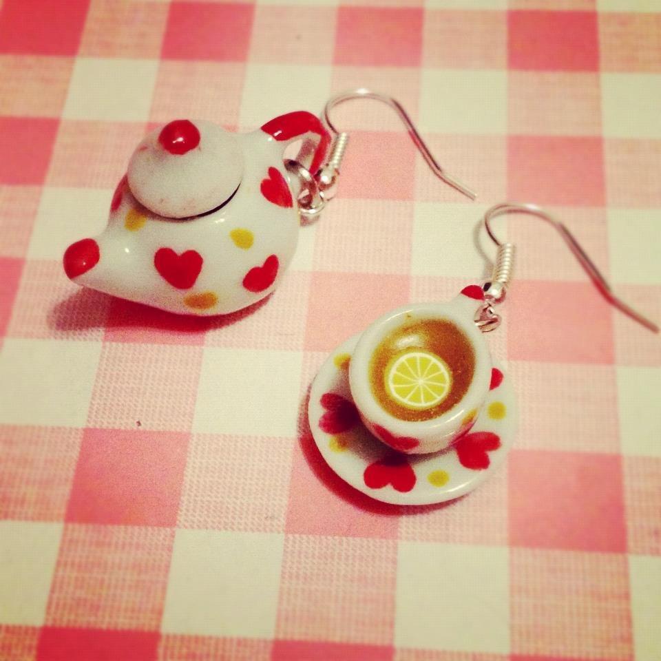 Orecchini I love Tea Time