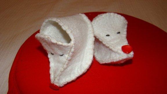 scarpe bebè pagliaccio