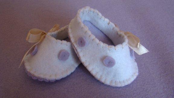 scarpe ballerine con fiocchetto