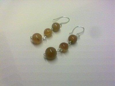 orecchini 3 palline