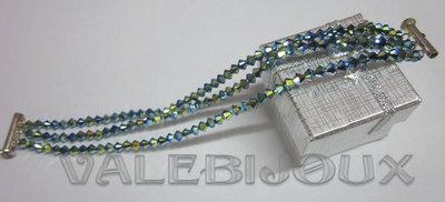 bracciale cristalli swaroski AB