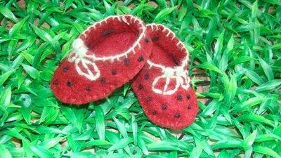scarpe bebè fragolina