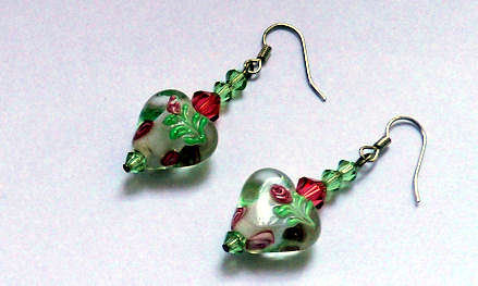 Orecchini Romantic Heart