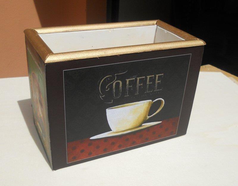 Portatutto Scatola porta cialde caffè o accessori