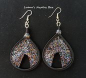 "Orecchini ""Sparkle"" - Thread earrings"