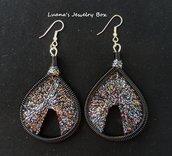 """Orecchini """"Sparkle"""" - Thread earrings"""