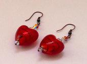 Orecchini Red&Passion