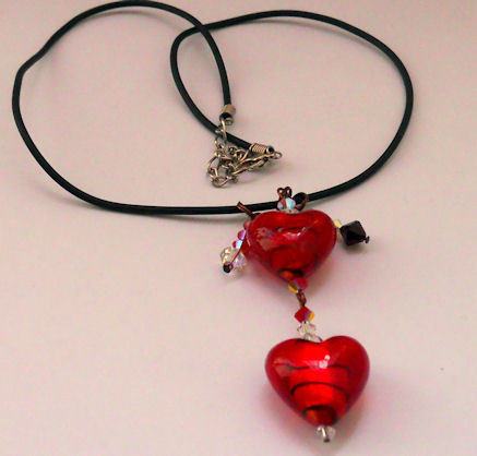 Collana Red&Passion