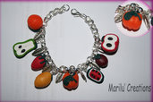 Bracciale Fruits in fimo
