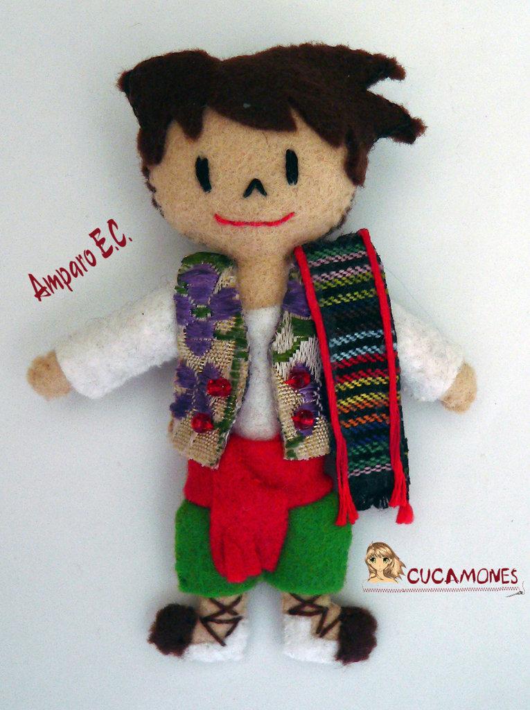 Broche Muñeco Torrentí