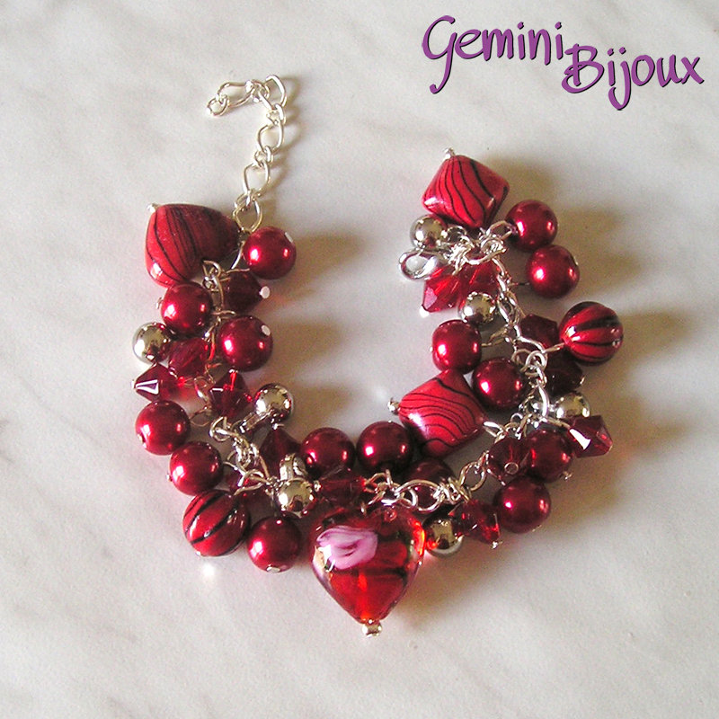 Bracciale Red Red Red