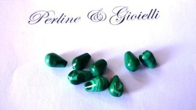 Malachite naturale