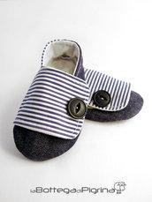 Scarpine per Bebè in Jeans