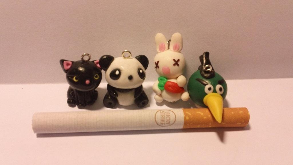 4 animaletti 3D