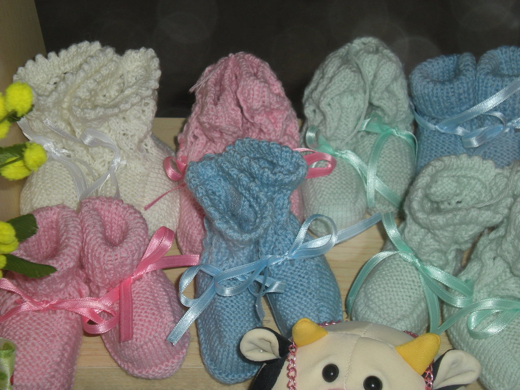 scarpettine in cotone baby