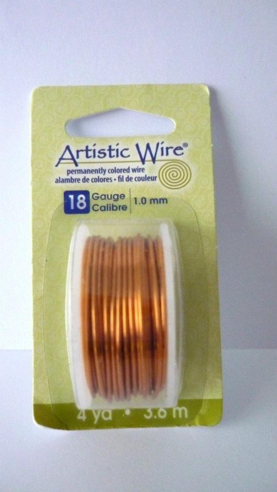 Artistic Wire® Copper Natural,