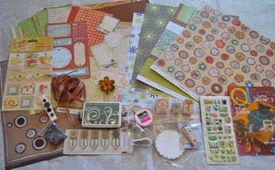Kit Scrapbooking n.14 - 60 pezzi